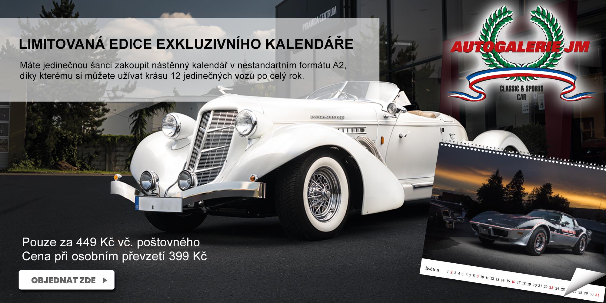 AUTOGALERIE KALENDÁŘ 2021