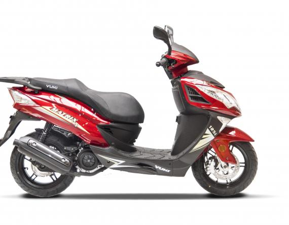 Matrix 125i red