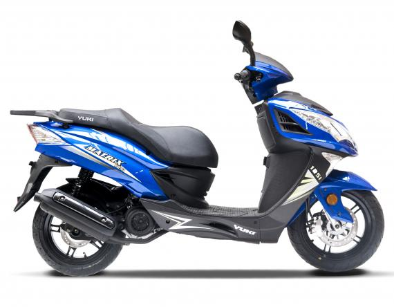 Matrix 125i blue
