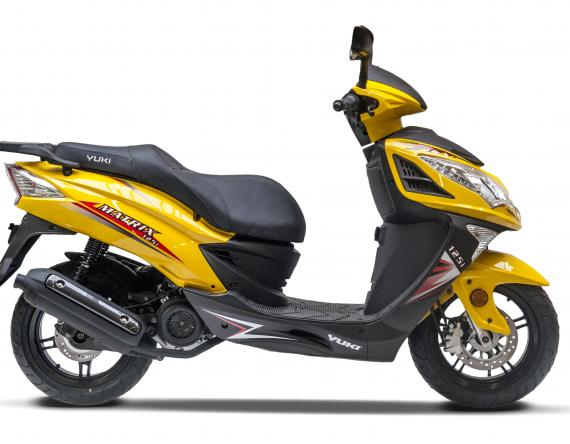 Matrix 125i yellow