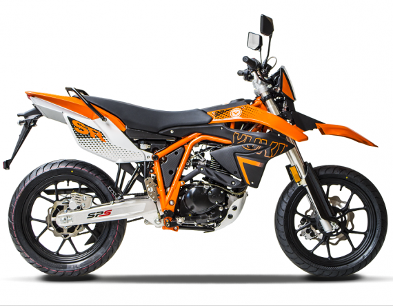 YUKI 125i SR orange